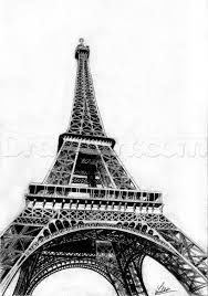 draw the eiffel tower step by step drawing sheets added by