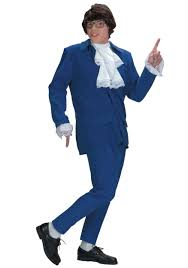 deluxe blue austin powers costume austin powers halloween costumes