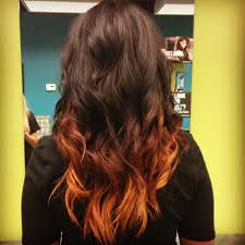 Dark Hair Colors And Styles Copper Ombre By Yours Truly Ombre Pinterest Copper Ombre