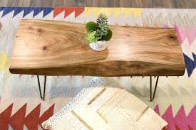 Coffee Table Cloth by Live Edge Bohemian Slab Coffee Table Woodwaves