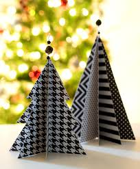 christmas craft idea paper trees paper trees christmas tree