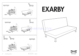 How To Assemble A Bed Frame Assembly For Chairs Ikea Exarby Sofa Bed Frame