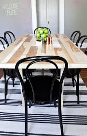 Build A Dining Room Table Diy Six Seat Dining Room Table U2013 A Beautiful Mess