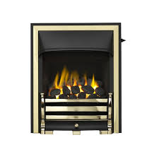 trueflame full depth convector gas fire half trim 0594082 with