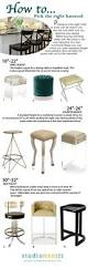 Standard Bar Stool Height The Width For Each Person Is A Bare Minimum Ideally You Want