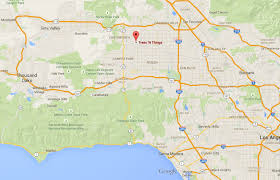 Map Of Los Angeles And Surrounding Areas by Trees U0027n Things Certified Arborists Tree Care Professionals