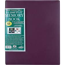12 x 15 scrapbook albums family treasures deluxe fabric postbound album 12 x 15