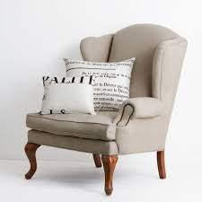 Linen Wingback Chair Design Ideas Amazing Wingback Armchair 74 With Additional Sectional Sofa Ideas
