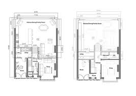 ground floor plan layout of ground floor open plan