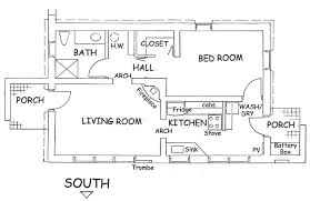 adobe floor plans drawing house plans wall thickness adhome
