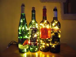 wine bottle christmas lights christmas lights decoration