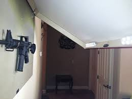 Make Your Own Gun Cabinet How To Hide A Gun With A Picture Frame Guns Gun Storage And