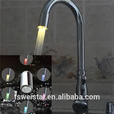 led kitchen faucet bathroom kitchen faucet with led light wholesale bathroom suppliers