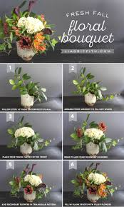 how to style a fresh flower centerpiece lia griffith