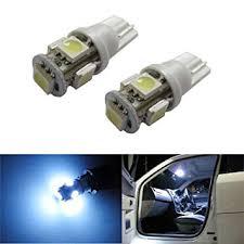 car dome light bulbs amazon com ijdmtoy 5 smd 168 194 2825 t10 led car interior map dome