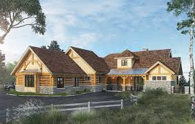 mountain home plans with walkout basement plan 12950kn high end mountain house plan with finished lower