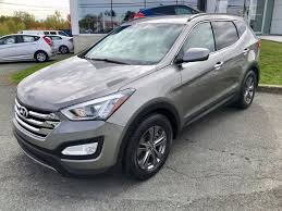 siege hyundai hyundai magog used 2013 hyundai santa fe for sale in magog