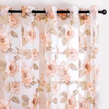 top finel new brand tulle for windows sheer curtains for kitchen
