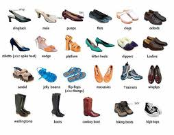 womens boots types different types of womens and mens shoes language