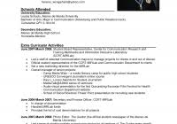 Resume Examples Pdf Standard Resume Sample Pdf Fred Resumes
