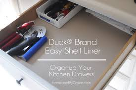 Ways I Used The Duck Brand Shelf Liner To Organize My Kitchen - Kitchen cabinets liners