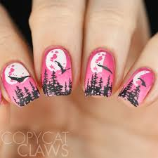 copycat claws 26 great nail art ideas halloween in the wrong colors