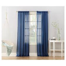 Blue Sheer Curtain Rugs Curtains Charming Interior Window Decor With Panel