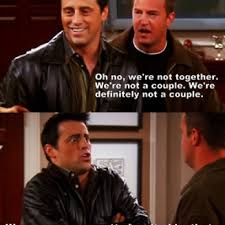 Joey Friends Meme - joey chandler talk about their relationship again on friends