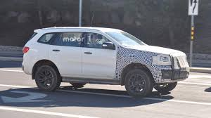 ford bronco concept ford bronco mule spied testing for the first time