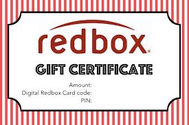 printable gift cards printable gift card redbox