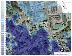 visualization for hurricane storm surge risk awareness and