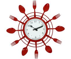 pendule originale pour cuisine grande horloge pendule design couverts 2017 et pendule originale