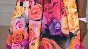 Isaac Mizrahi Sheets Isaac Mizrahi Live Photoreal Floral Printed Neoprene Skirt On Qvc