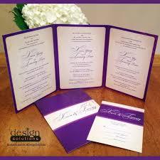 tri fold wedding invitations template trilingual trifold wedding invitations custom designs and more