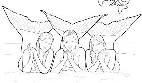 printable coloring pages of mermaids free coloring pages of mermaids eidolon info