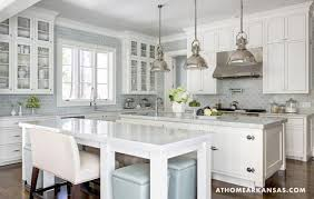 glass cabinets in white kitchen decorating with glass cabinets doors brings light into