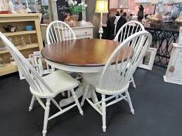 round farmhouse kitchen table round farmhouse dining table and chairs nashgrad