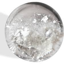 cremation ashes glass orb and paperweights made with cremation ashes of your pets
