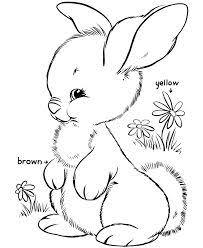 bunny cutouts print free print larger image