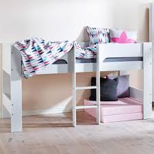 Flexa Heidi Midsleeper Cabin Bed  Family Window - Mid sleeper bunk bed