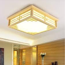 Japanese Ceiling Light Led Japanese Sheepskin Paper Wooden Led Lamp Led Light Ceiling