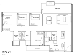Ecopolitan Ec Floor Plan by The Santorini Tampines St 86 Mysg Property Com