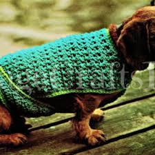 crochet pattern for dog coat shop crochet dog pattern on wanelo