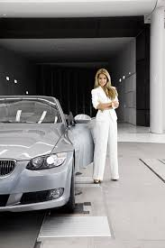 bmw van sylvie van der vaart in bmw wind tunel picture 27685