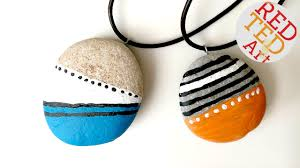 diy stone pendant necklace images Diy stone pendants jewelry nature crafts stone crafts jpg