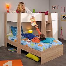 Parisot Magellan L Shaped Kids Bunk Bed Amazoncouk Kitchen  Home - Parisot bunk bed