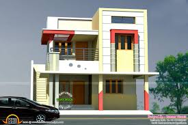 1200 sq ft house elevation plans tamil nadu luxihome