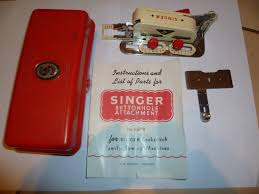 vintage singer simanco buttonhole attachment 86718 with