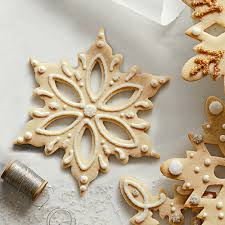 snowflake stainless steel cookie cutters the green