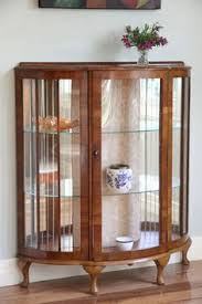 antique display cabinets with glass doors antique oak china cabinet with leaded glass and bent glass antique